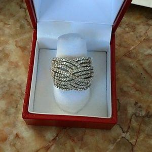 10k gold diamond ring 1 carat